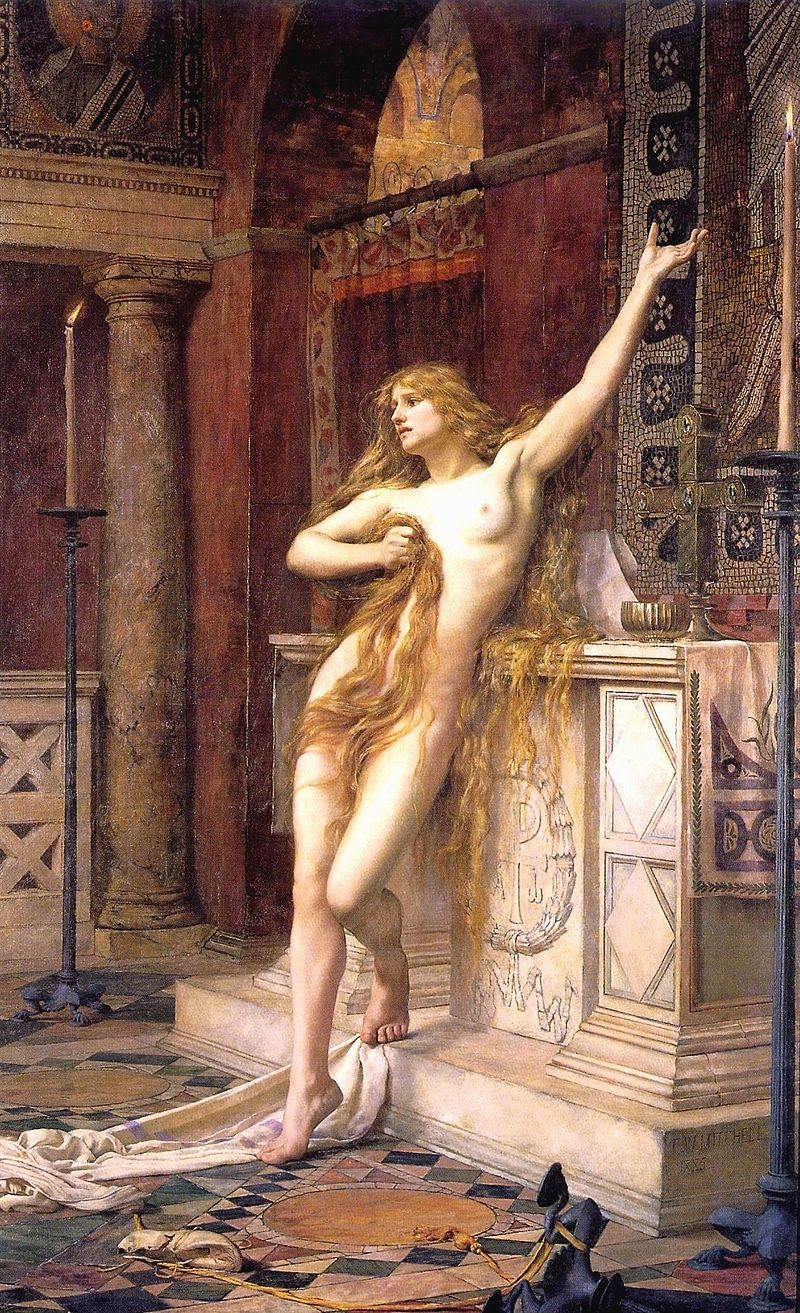 800px-Hypatia_(Charles_William_Mitchell).jpg