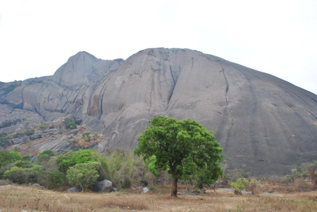 Savanadurga hill